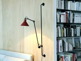 wired wall sconce wired wall sconce swing arm wall sconce hardwired modern swing arm wall red