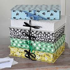 Decorative Box Files