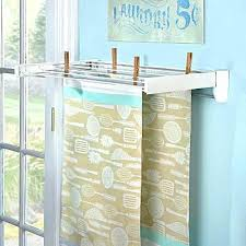 bathroom drying rack useful wall mounted contemporary racks as clothes dryer 5 lines with sleek bathtub bathtub drying rack