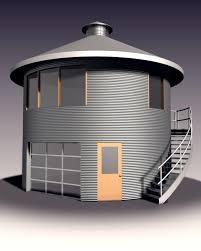 Grain Bin Home Portfolio Grain Bin Buildings Architecture By Synthesis Pole