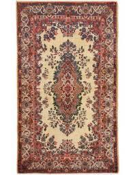 seneh old kirman handmade woolen area rug
