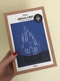 Disney Book Light Typo Disney Acrylic Light Books Stationery Stationery On