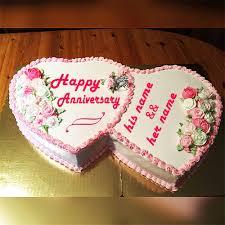 Anniversary Cake With Name