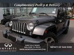 Used 2016 Jeep Wrangler 4WD Unlimited Sahara for sale in SAN ...