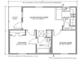 elegant backyard guest house floor plans cottage homes