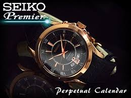seiko specialty store 3s rakuten global market seiko mens seiko mens perpetual calendar watch black rose gold dial black leather belt snq128p1