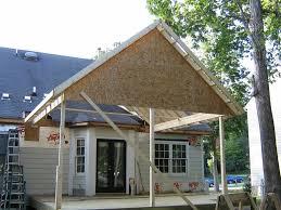 porch roof framing plans