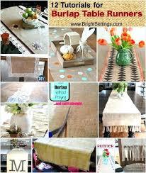 diy table runner ideas burlap chalkboard table runner burlap table runner ideas tutorials for burlap table