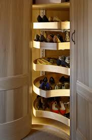 bookcase good looking rotating shoe rack