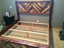 king size pallet bed king size pallet bed frame bed frame katalog dd6bbd951cfc