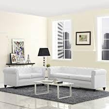 White Living Room Sets Modway Earl 2 Piece Living Room Set Reviews Wayfair
