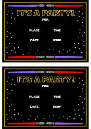 star wars printables catch my party invitation star wars printable
