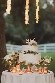Simply Tasteful Wedding. Wedding Cake TablesCopper ...