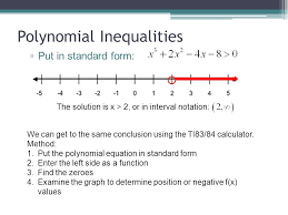 21 polynomial inequalities