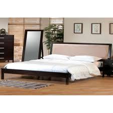cal king platform bed  glamorous bedroom design