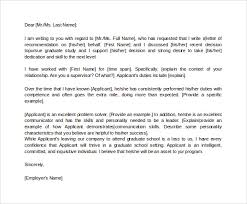 Ideas Collection Re mendation Letter From Boss To University About Sheets