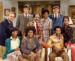 Picture Of Marla Gibbs Paul Benedict Franklin Cover Mike Evans Sherman  Hemsley Roxie Roker Isabel Sanford Berlinda Tolbert And Ned Wertimer In The  Jeffersons Large Picture Shared By Hurley-1 | Fans Share