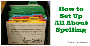 All About Spelling Phonogram Chart How To Set Up All About Spelling The Organized Homeschooler
