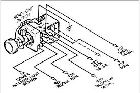wiring headlight switch rebel harness the h a m b also here is a gm light switch diagram