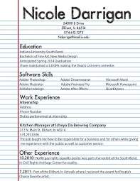 Best Ideas Of High School Student Job Resume Template Via First Job