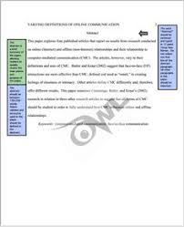 chicago style citation help from the owl at purdue one of the  apa paper example apa style research papers example of format and outline apa style sample papers and edition sample apa paper mla format