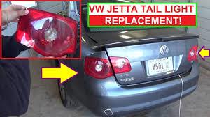 2012 Vw Jetta Brake Light Replacement Vw Jetta Mk5 Rear Tail Light Removal And Replacement Brake Light Replacement
