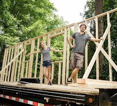 Small Picture Tiny House Framing Complete Little Bitty Tiny House