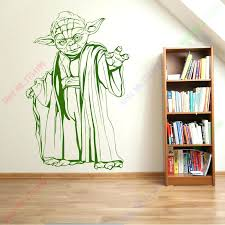 yoda wall decal together with hot sale new star wars wall art sticker wall decal home on star wars wall art stickers with yoda wall decal together with hot sale new star wars wall art