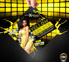 Free Party Flyer Templates 18 Cool Party Events Nightclub Free Psd Flyer Templates