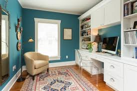 21 Blue Home Office Designs Decorating Ideas Design