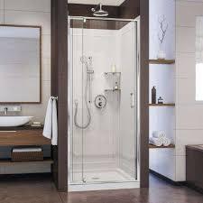 flex 36 in x 36 in x 76 75 in pivot shower kit door
