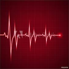 Fotografie Obraz Heart Rhythm Ekg Posterscz