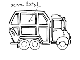 Cool Garbage Truck Coloring Pages Free Printable Coloring Pages For