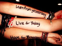 Image result for learn from today hope for tomorrow quotes