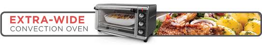 extra wide convection oven