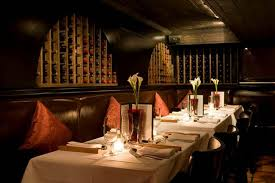 Image result for image of dimly lit restaurant