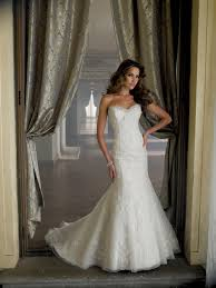 Davids Bridal Sweetheart Mermaid Dress
