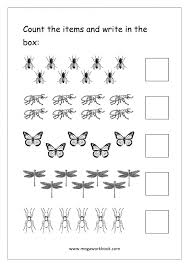 Math Worksheets » Counting Math Worksheets - Printable Worksheets ...