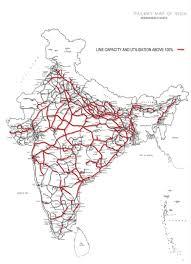 40 of indian railways tracks used