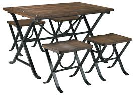 Industrial Style Dining Room Tables Signature Design By Ashley Picnic Industrial Style Rectangular