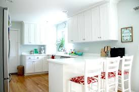 red corian countertop cute red fl chairs for small kitchen decoration ideas with white cabinet and