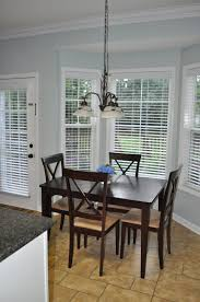 ... Endearing Shades And Blinds For Bay Window Decoration And Home Interior  Ideas : Divine Dining Room ...