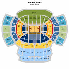 Philips Arena Atlanta Ga Seating Chart Philips Arena Insidearenas Com