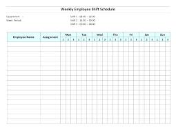 Work Schedule Excel Spreadsheet Monthly Schedule Template Word Free