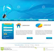 Business Website Templates Business Website Templates Stock Vector Illustration Of Design 18