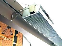 overhead restaurant outdoor patio heaters heater ceiling fan