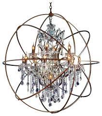 solaris chandelier light antique copper crystals oversized chandelier solaris mini chandelier solaris sphere chandelier