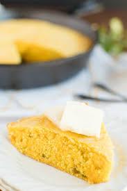 Skillet Cornbread Recipe A Dash Of Sanity
