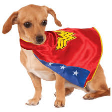Rubies Dog Costume Size Chart Rubies Wonder Woman Cape Pet Costume