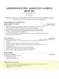 Administrative Assistant Resume Skills Best 3524 Skill For Resume 24 Administrative Assistant Example
